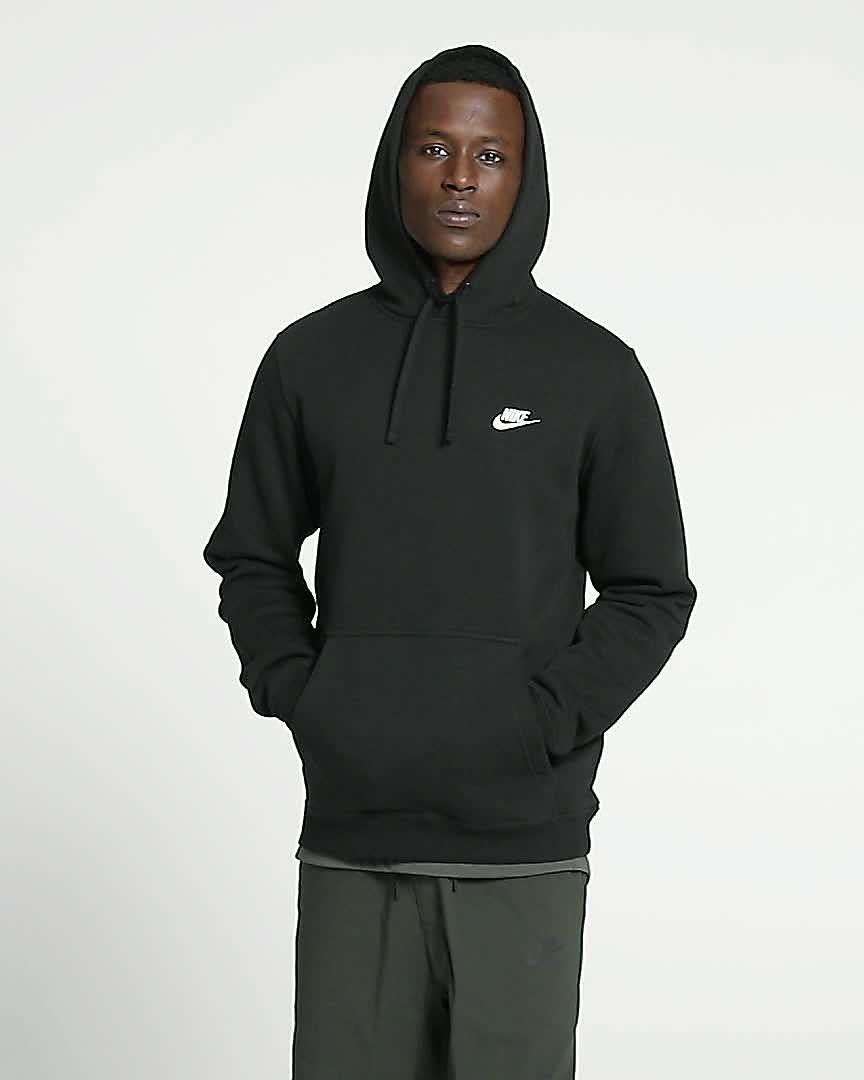 932263bd63c2 Nike Sportswear Club Fleece Pullover Hoodie. Nike.com