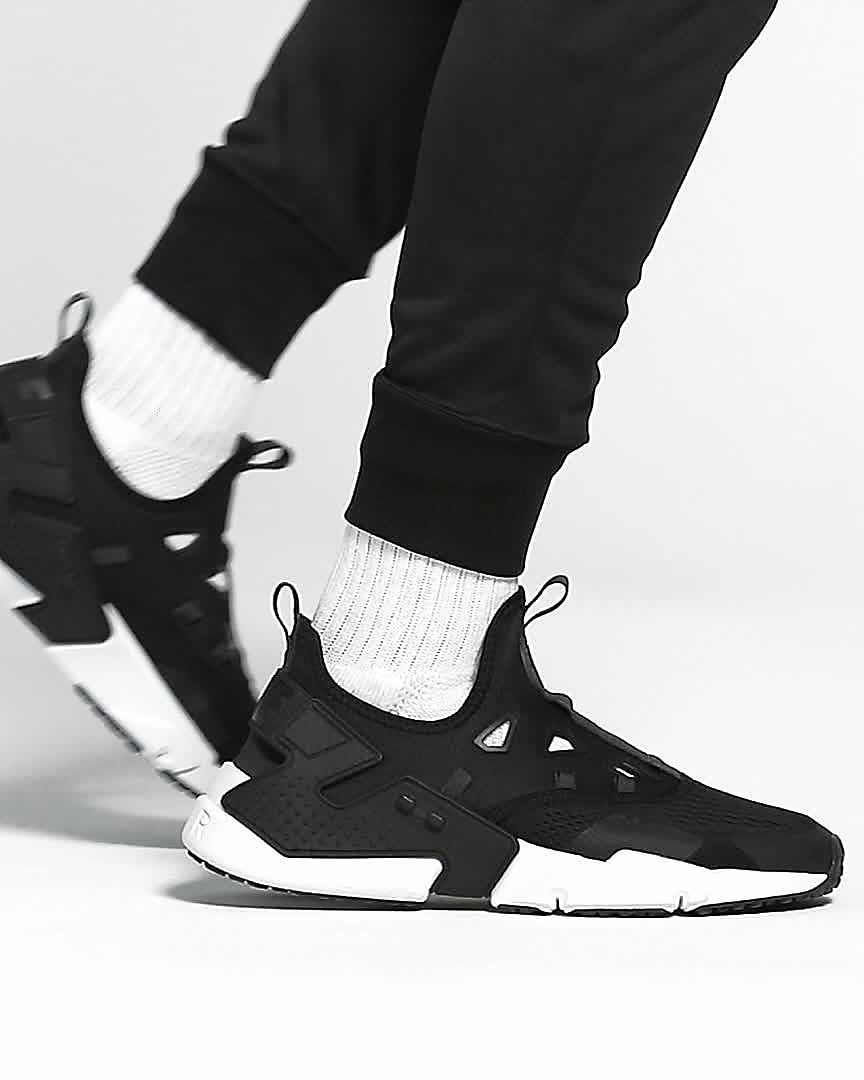 Nike Air Huarache Drift Breathe / Anthracite-Anthracite vyH5X797