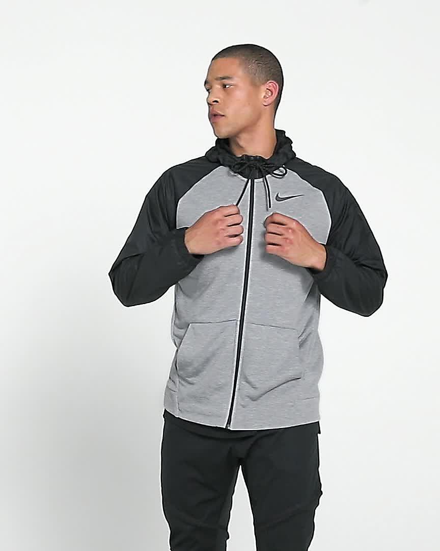 8eda001a Nike Dri-FIT Men's Utility Full-Zip Training Hoodie. Nike.com NZ