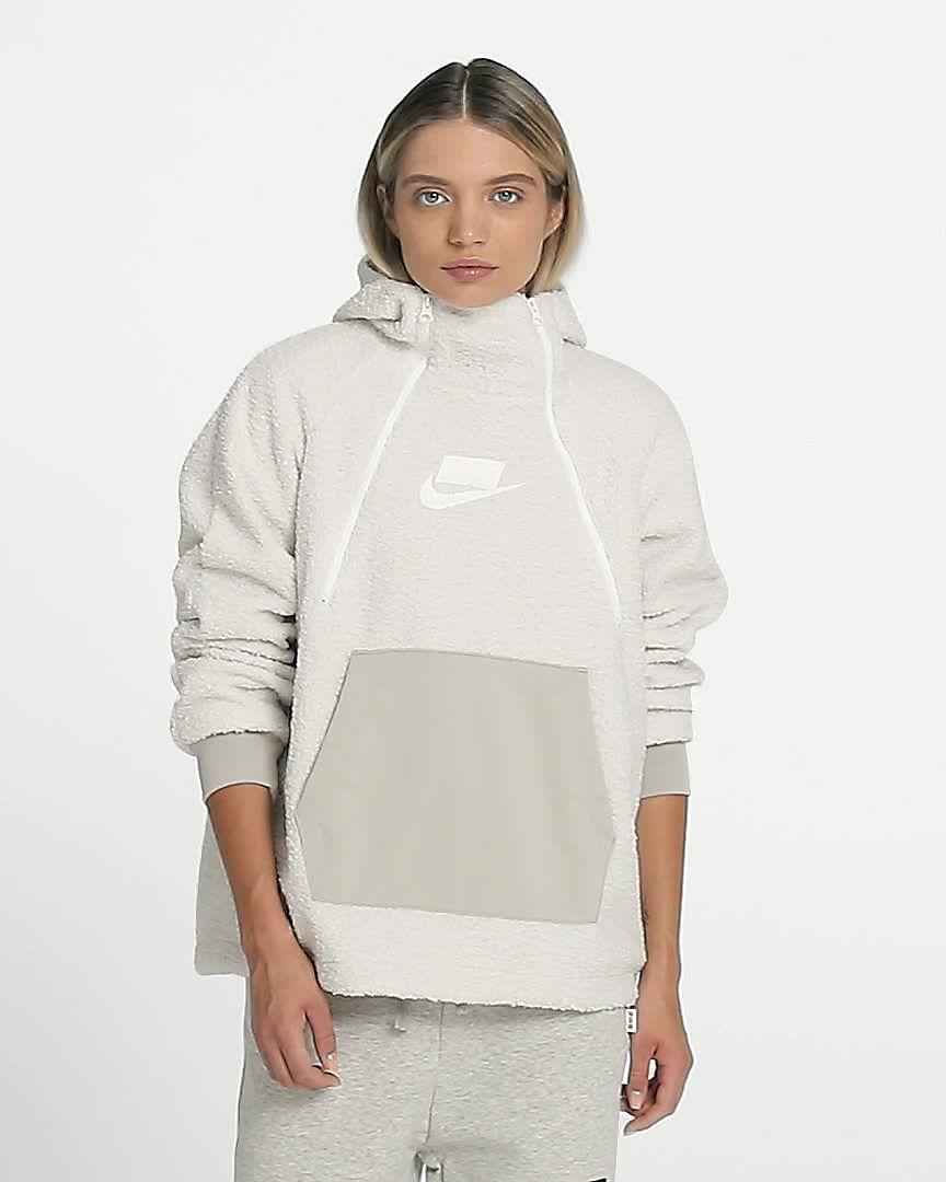 nike sportswear sweat a capuche ficelle
