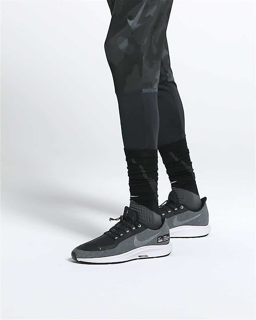 7e7f72027ca Nike Air Zoom Pegasus 35 Shield Water-Repellent Men s Running Shoe. Nike.com  IE