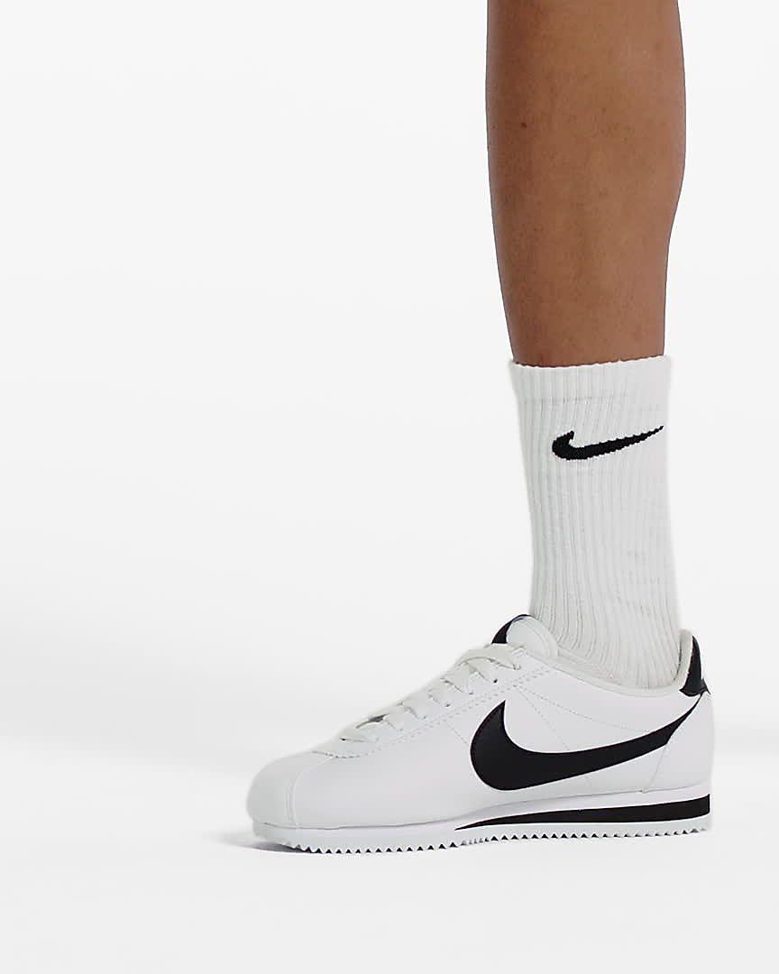 zapatillas de piel de mujer nike