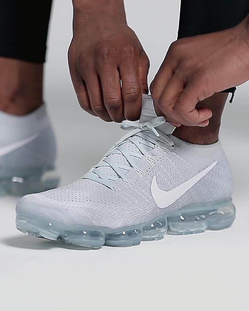 NIKE Men s Air Vapormax Plus Nylon Running Shoes ea715cd50