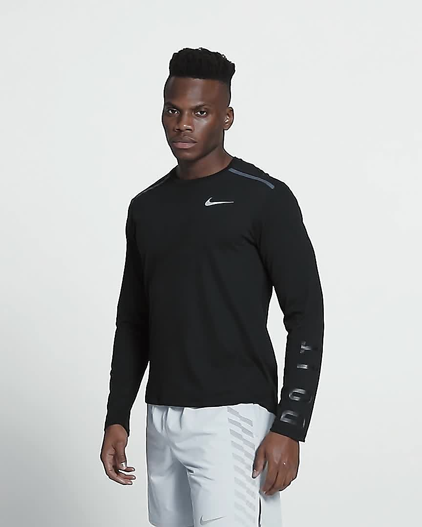 75e02414 Nike Tailwind Men's Long-Sleeve Running Top. Nike.com SE
