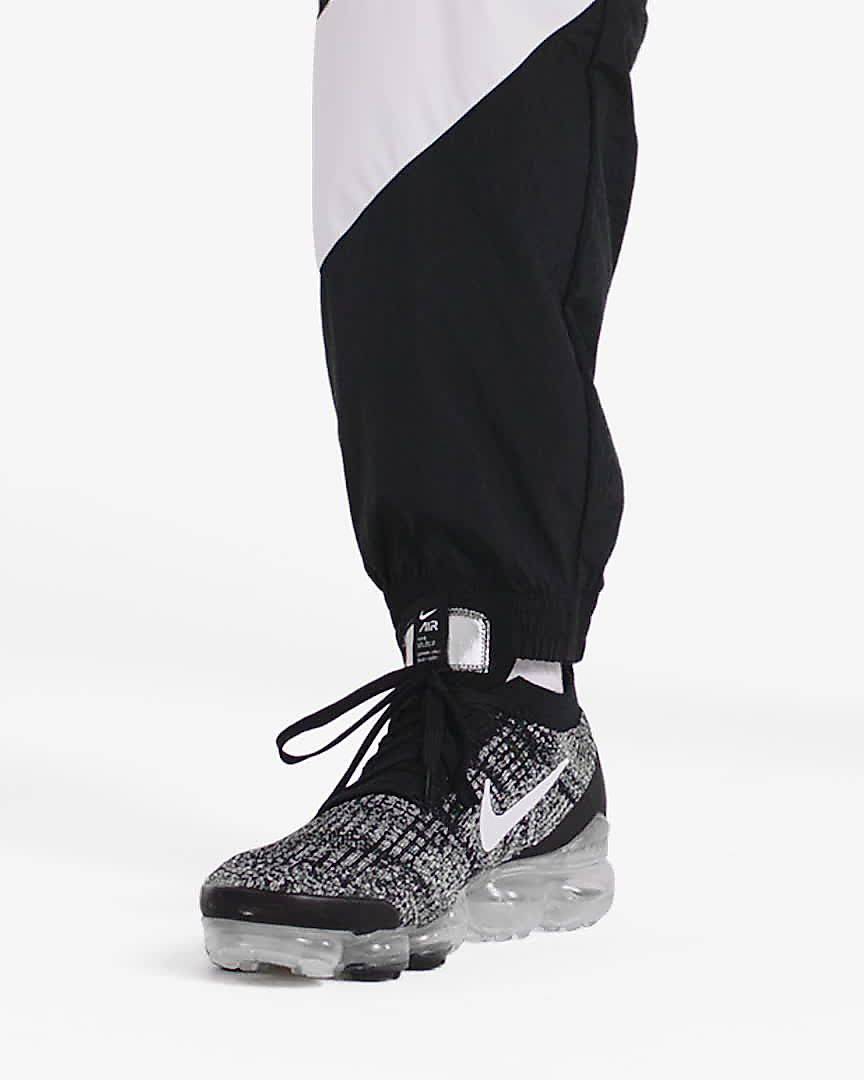 Nike Air VaporMax 2018 Flyknit White Gray Red Tick (36 45