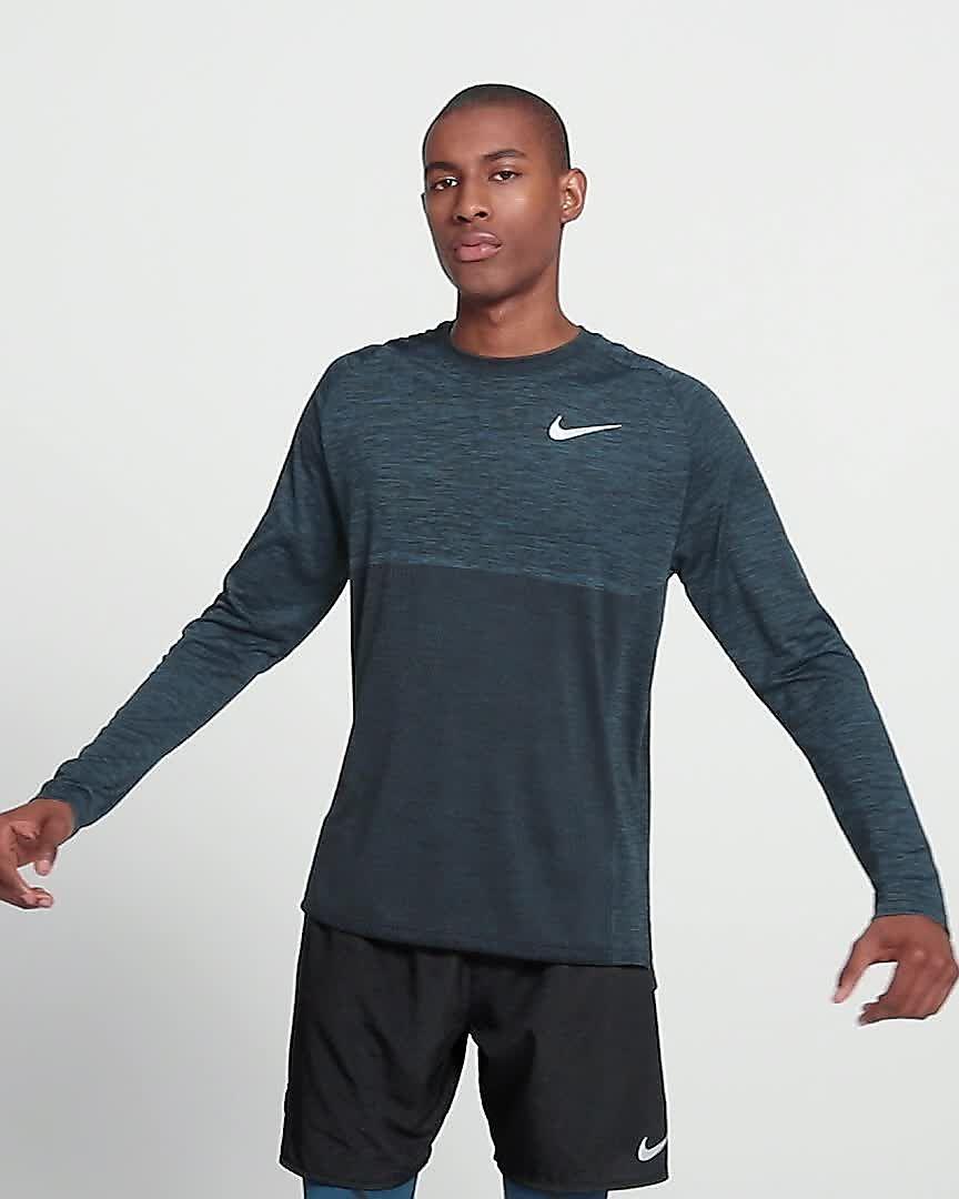 cd3b2e50 Nike Dri-FIT Medalist Men's Long-Sleeve Running Top. Nike.com AU