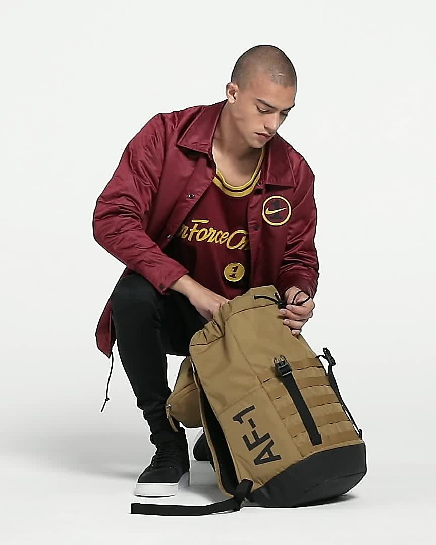 Nike Sportswear AF 1 Backpack BlackWhite Size One Size
