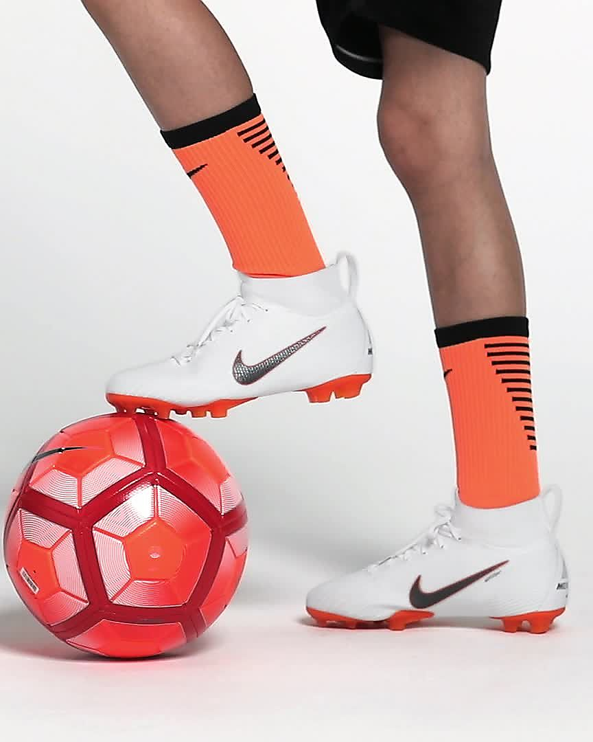 100% authentic 34177 d1f65 Nike Jr. Superfly 6 Elite FG Older Kids' Firm-Ground Football Boot