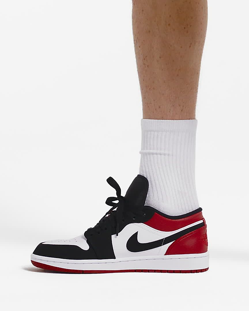 25c1e8c603 Air Jordan 1 Low Men's Shoe
