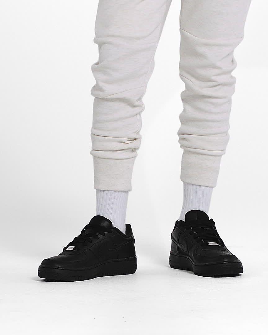 Nike Air Force 1 Triple Black Zapatillas Niñoa