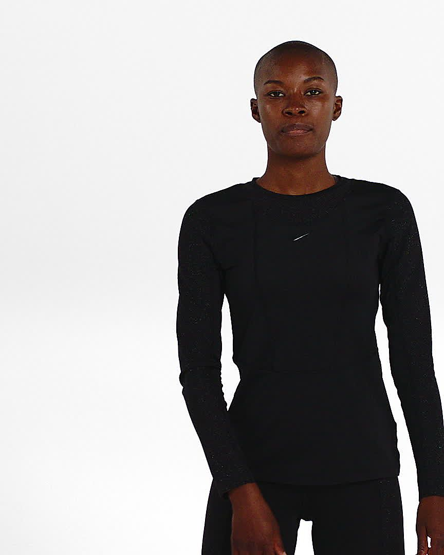 Maglia a manica lunga Nike Pro Warm Donna