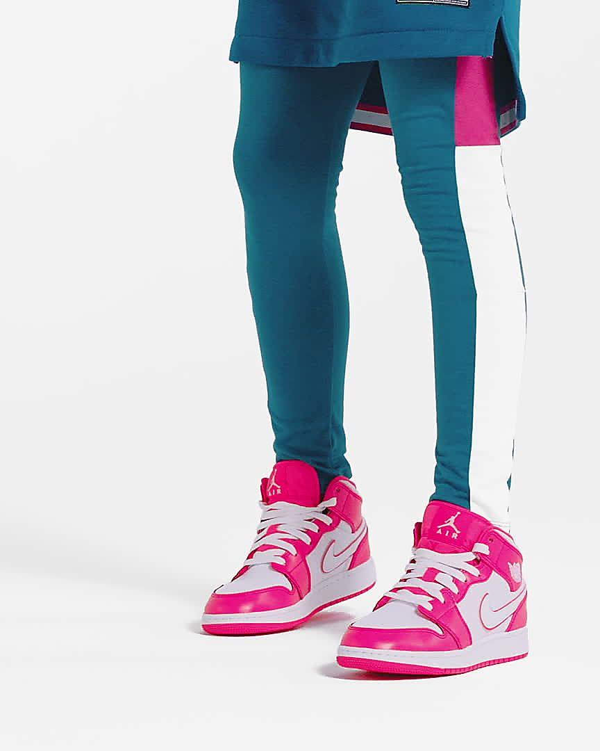 06c43211a47 Air Jordan 1 Mid Big Kids' Shoe. Nike.com