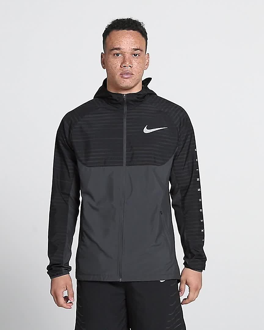 15b3c0d85 Nike Essential Men's Hooded Running Jacket