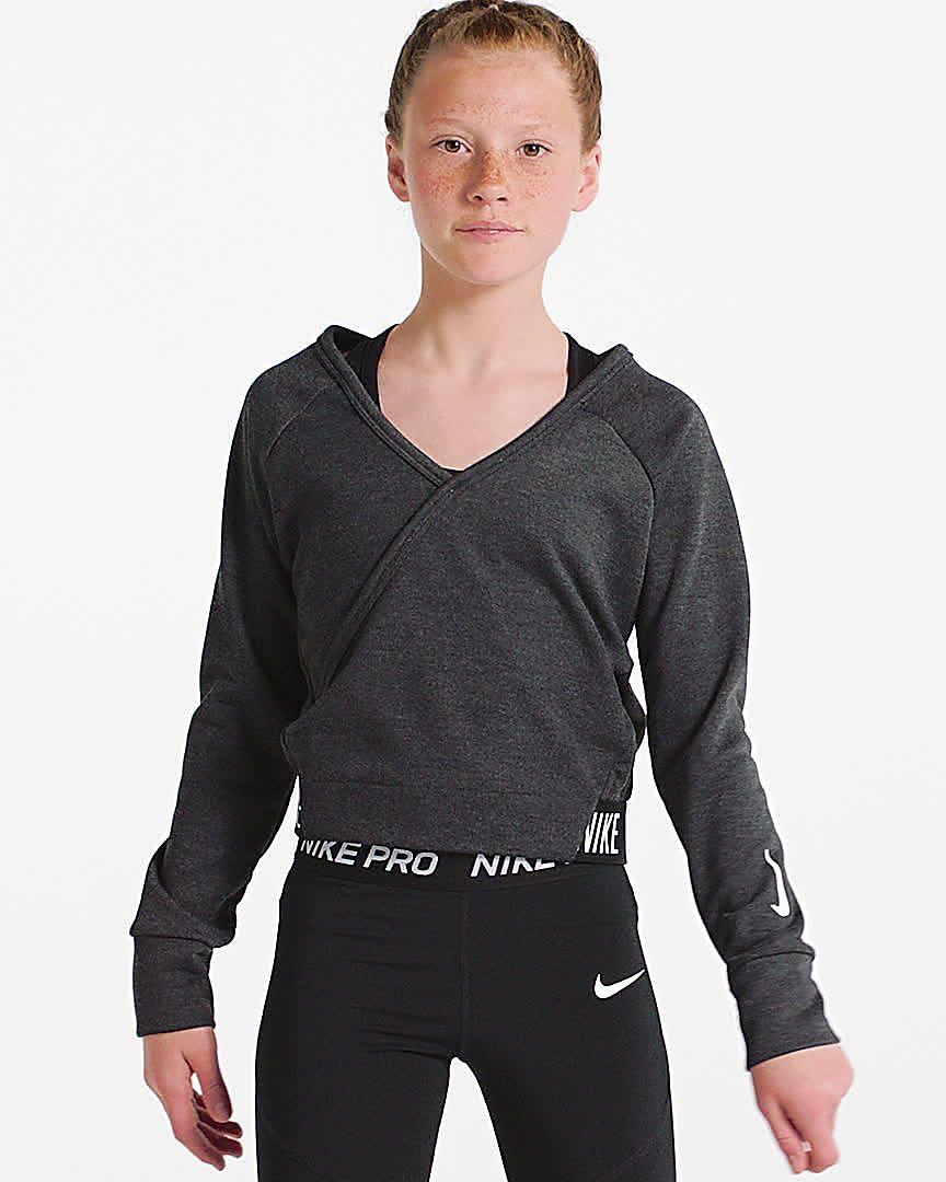 f8b216acfc Nike Older Kids' (Girls') Long-Sleeve Reversible Training Top