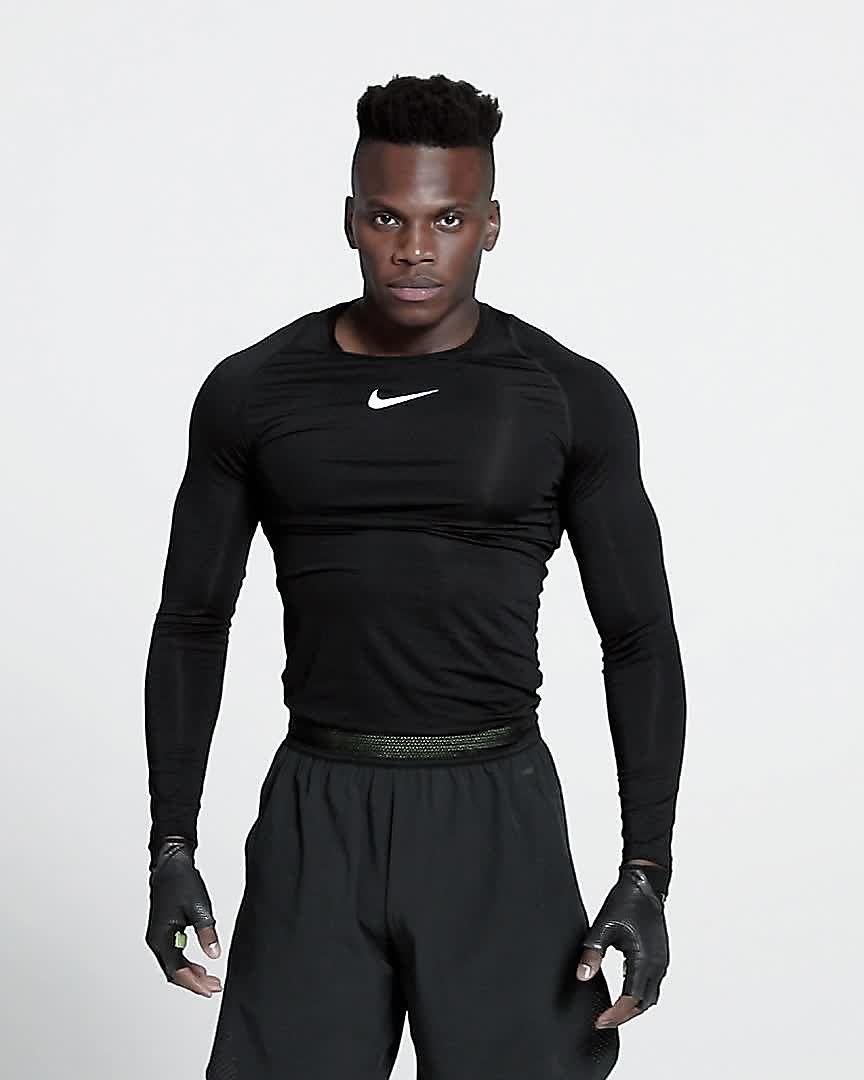 014827f8 Nike Pro Men's Long-Sleeve Top. Nike.com