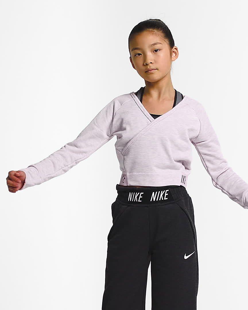 f69fc0bfb60d6 Nike Older Kids  (Girls ) Long-Sleeve Reversible Training Top. Nike.com GB