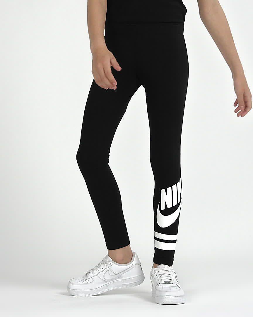 0ed0cb086 Nike Sportswear Older Kids  (Girls ) Graphic Leggings. Nike.com GB