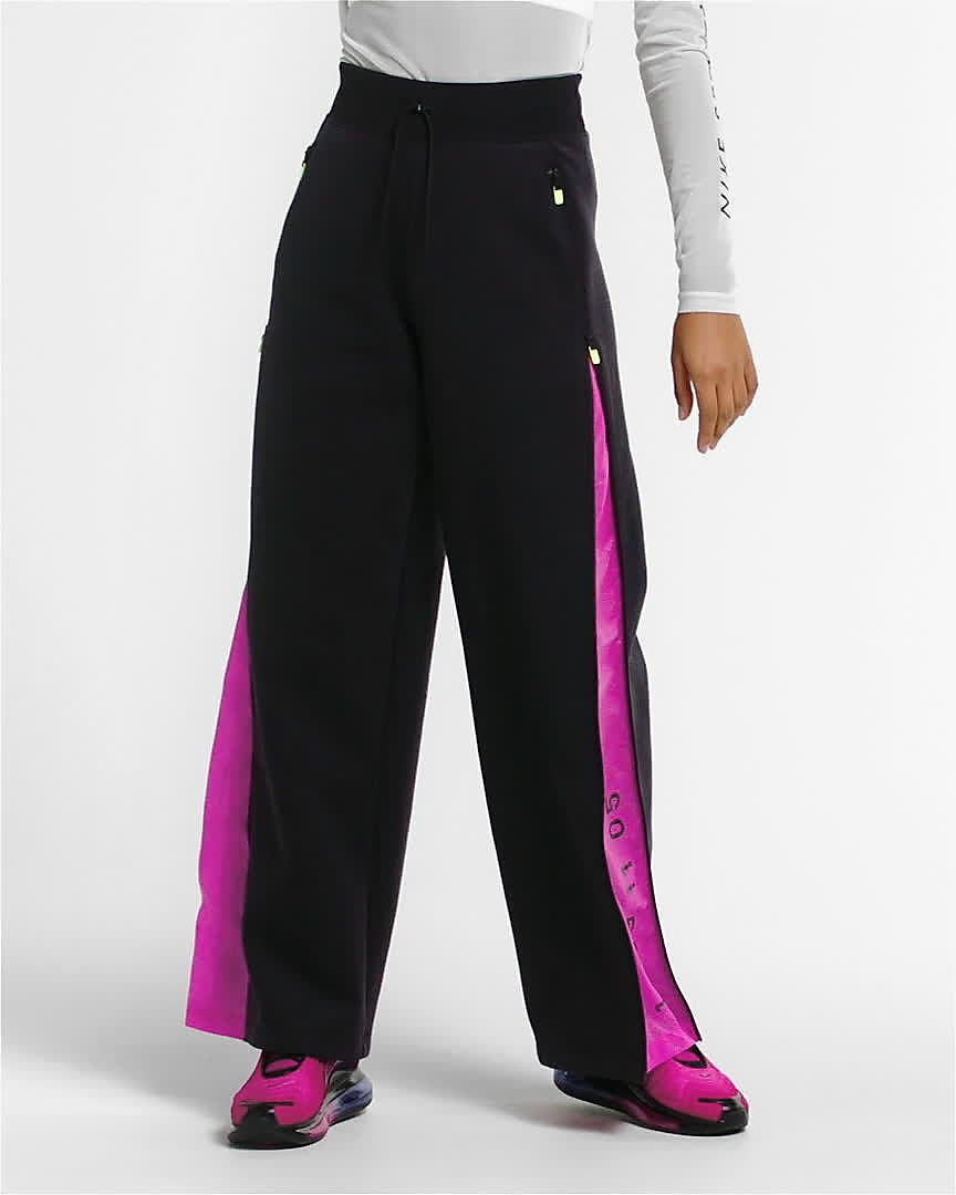 Pantaloni da Track Donna Nike Sportswear Tech Pack Rosa
