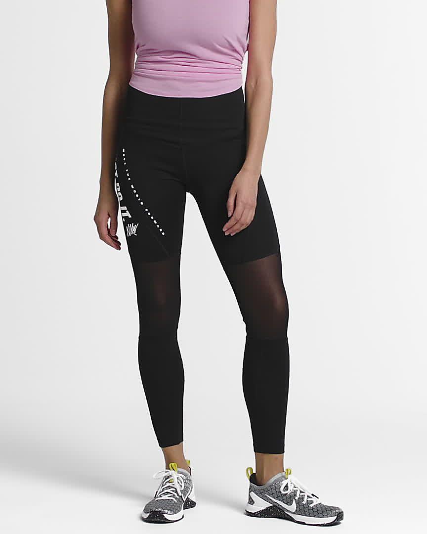 100% authentic eb65c 697af Träningstights Nike Power för kvinnor. Nike.com SE