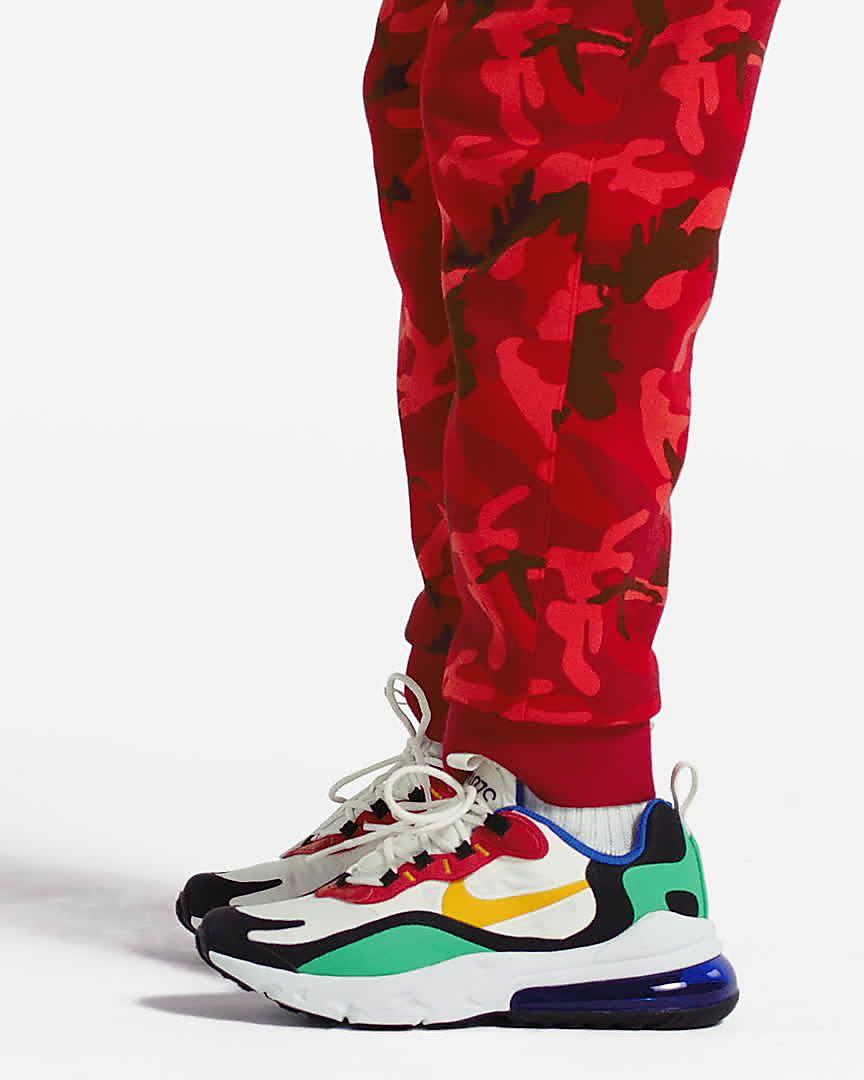 Nike Air Max 270 React Schuh für ältere Kinder. Nike LU