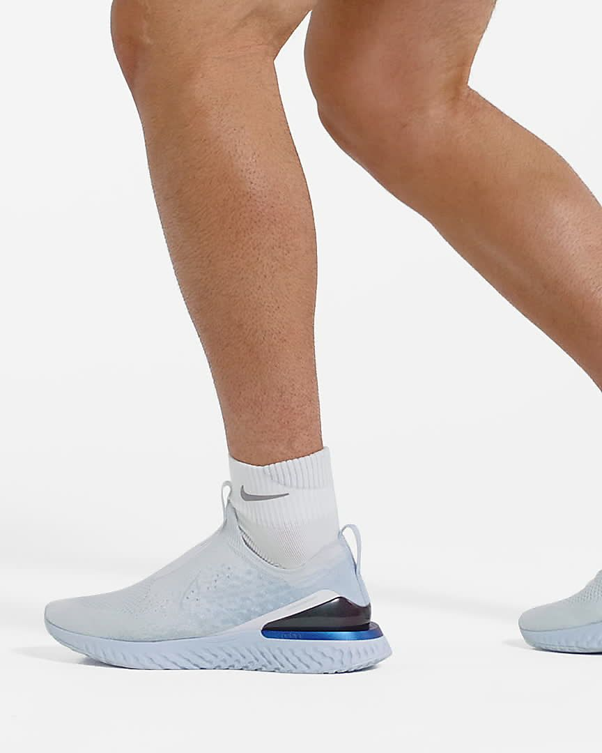 Nike Epic Phantom React Flyknit M BV0417 401 shoes blue | eBay