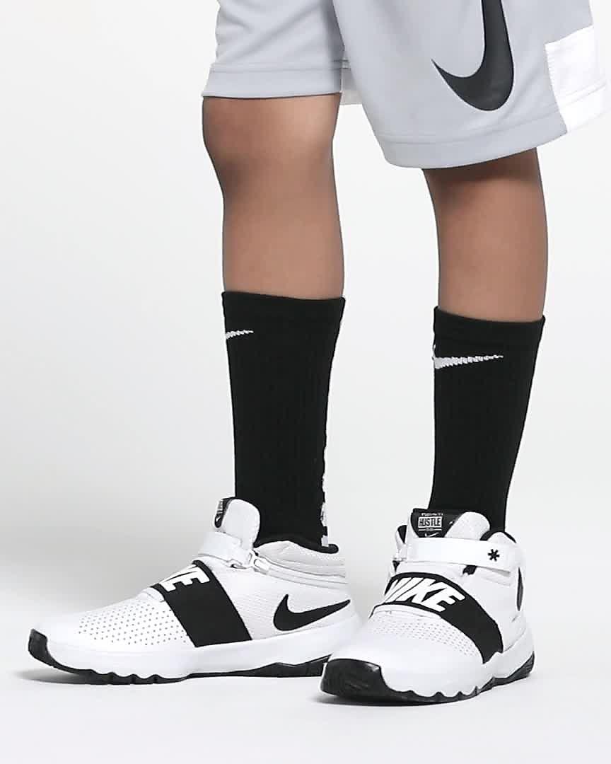 factory price 59542 55221 Nike Team Hustle D 8 FlyEase Big Kids  Basketball Shoe. Nike.com