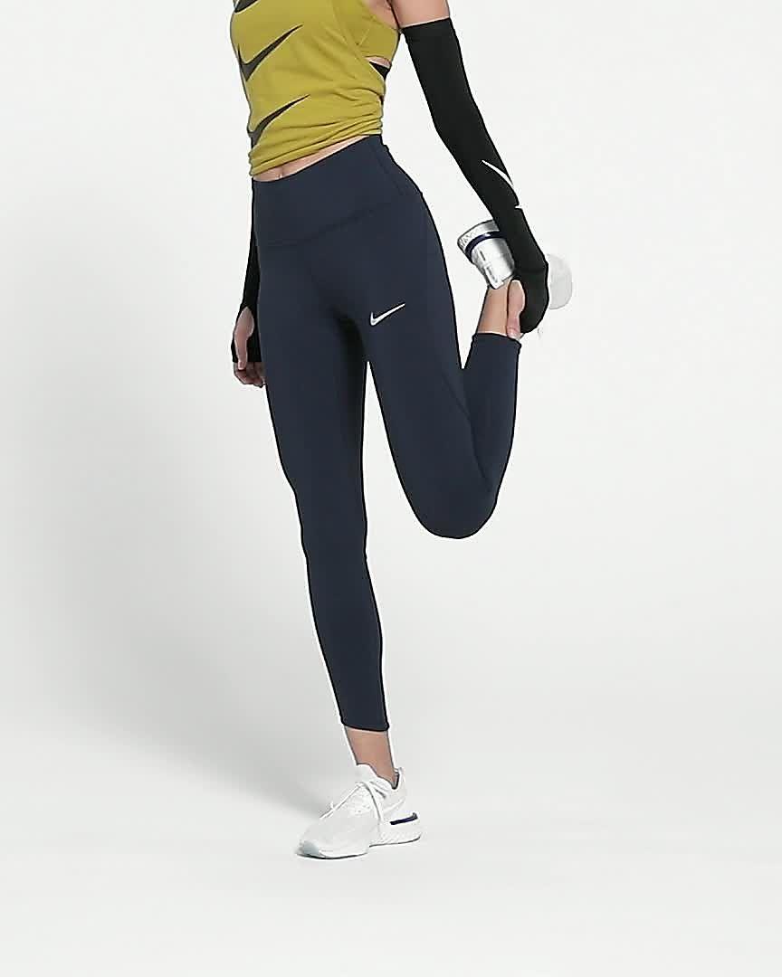 Nike Epic Lux 78 Lauf Tights mit hohem Bündchen für Damen