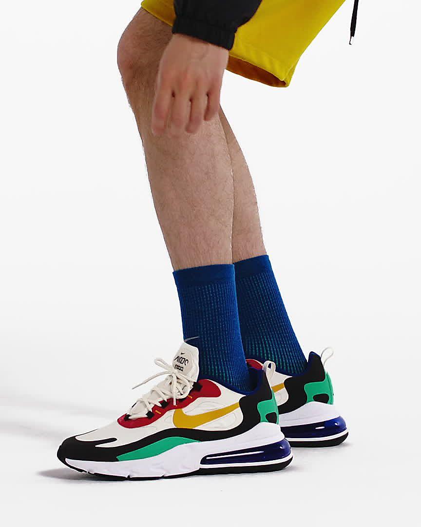 Nike Air Max 270 React (Op Art) Men's Shoes