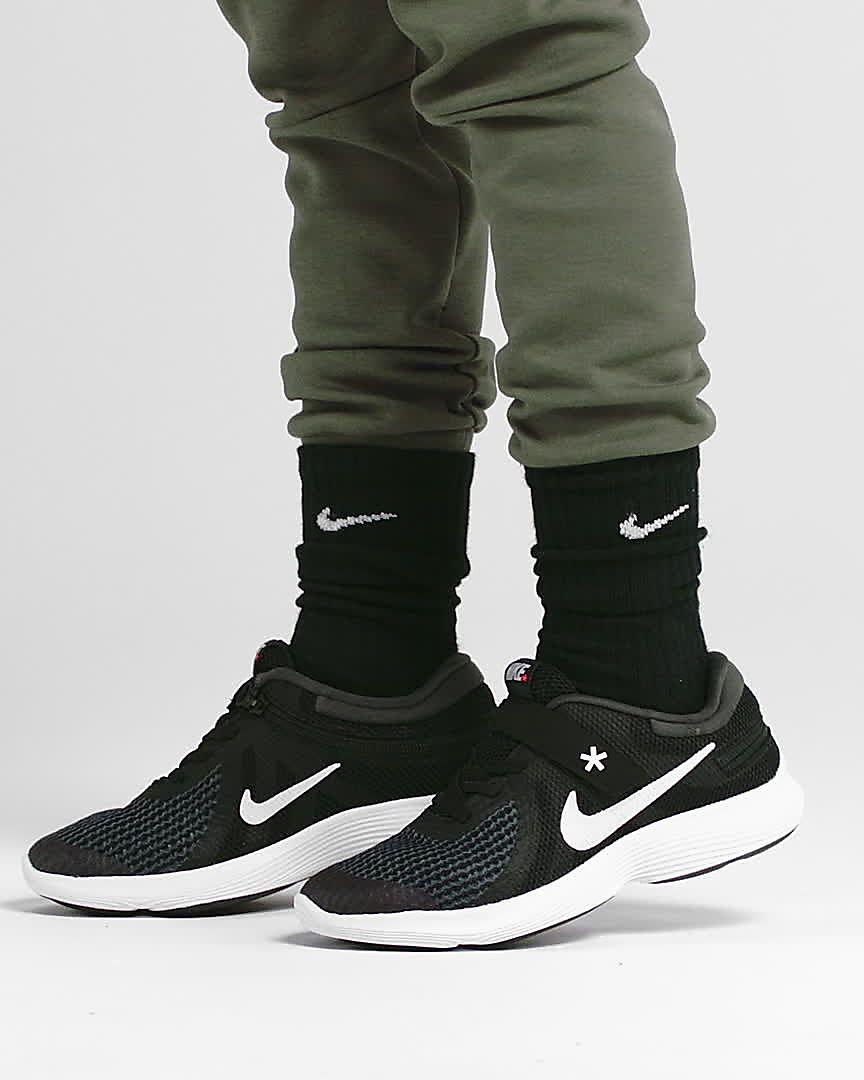 cbc8b7acfd2 Nike Revolution 4 FlyEase-løbesko til store børn. Nike.com DK