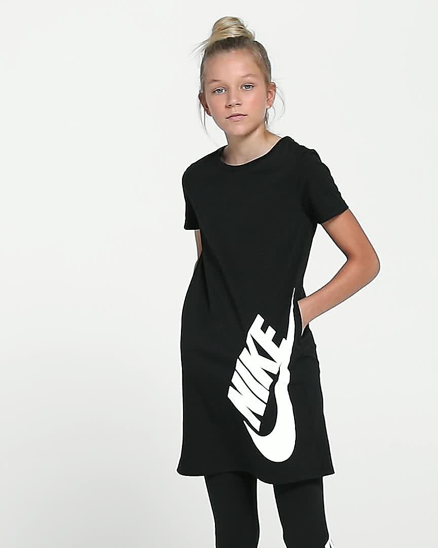 e0018af7a725 Nike Sportswear Big Kids  (Girls ) T-Shirt Dress. Nike.com