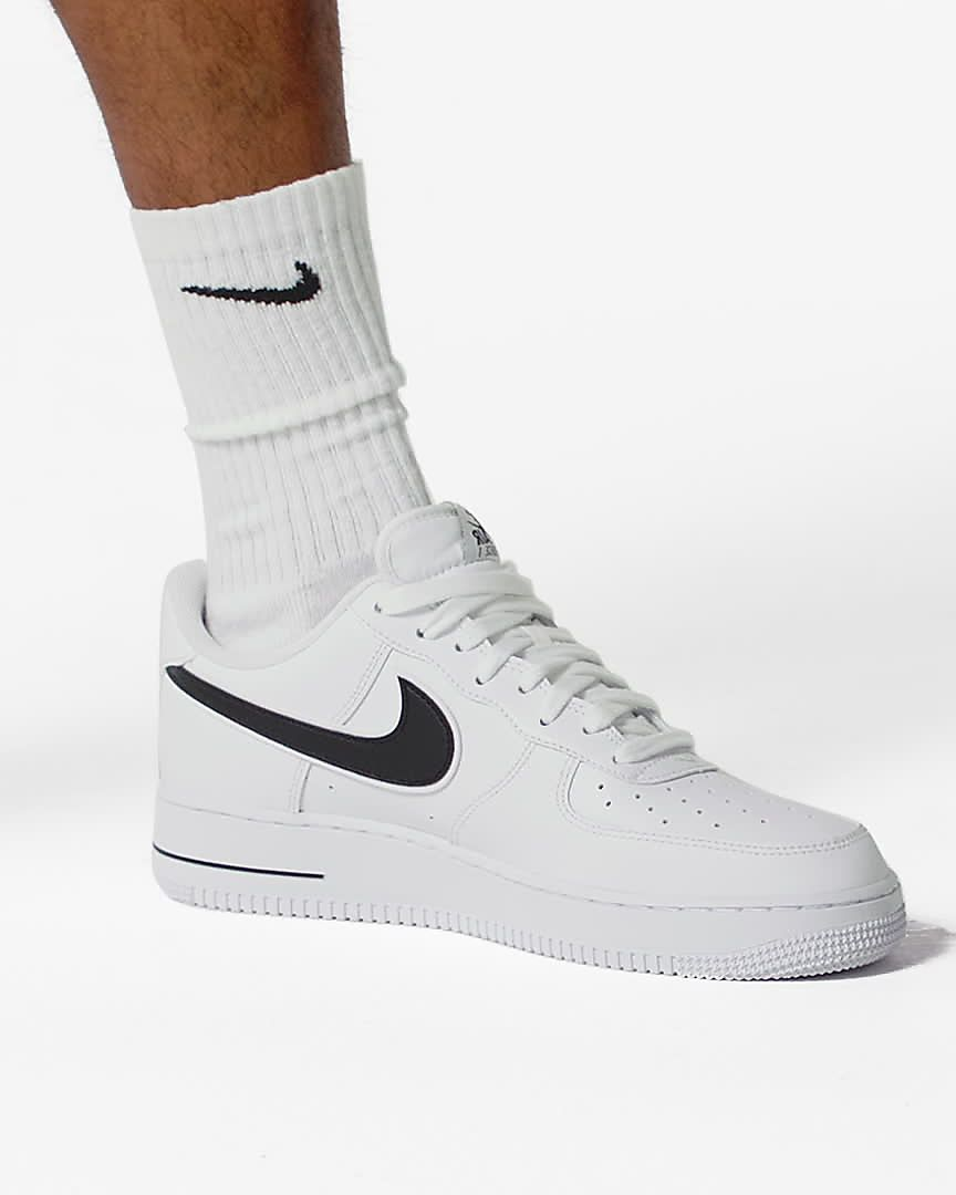 chaussure nike air force 1,homme air force 1 low blanche et