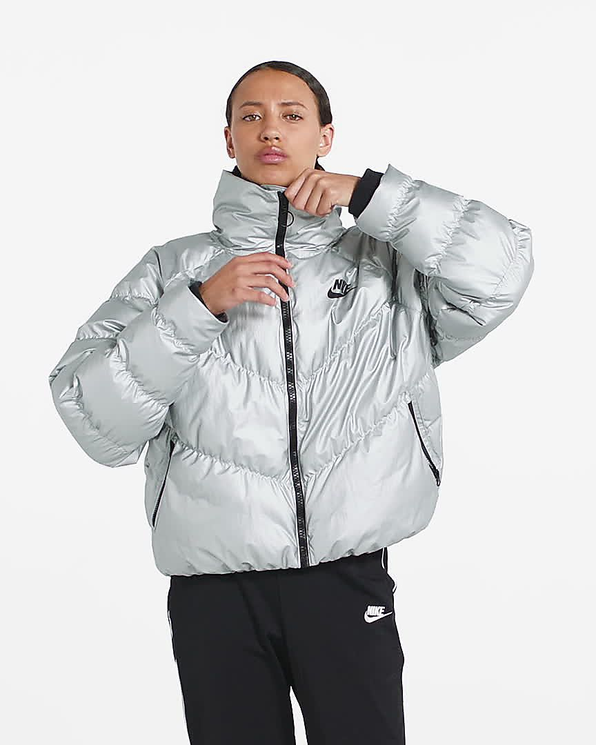 Nike Sportswear Synthetic Fill gl?nzende Damenjacke