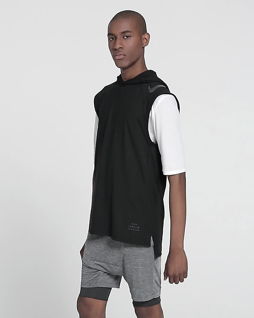 e38a6651439c9 Nike Run Division Element Men s Sleeveless Running Hoodie. Nike.com ID