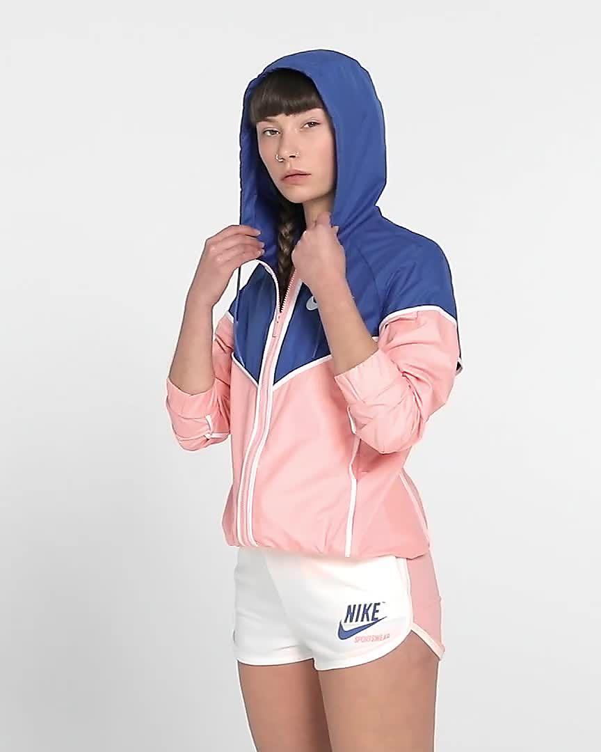 97dc3ee58e9c6 Nike Sportswear Windrunner Women's Woven Windbreaker. Nike.com ZA