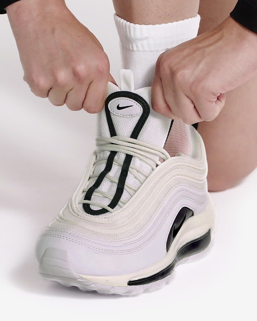 Buty Damskie Nike WMNS Air Max 97 BlackPlatinum Tint (921733 017)