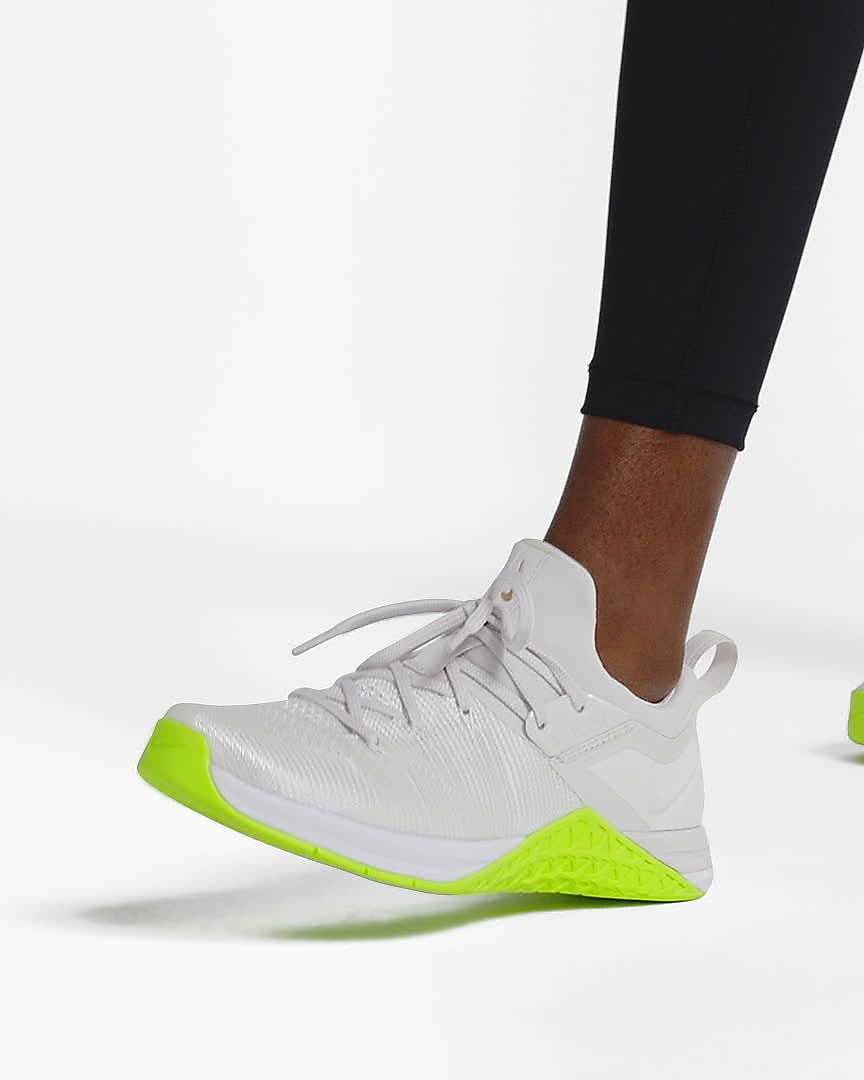 Scarpa da cross trainingsollevamento pesi Nike Metcon Flyknit 3 Donna