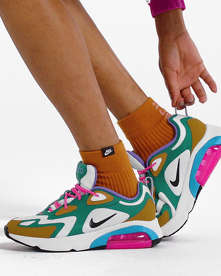 Women Nike Air Max 97 Pink Blue Yellow | me and jo in 2019