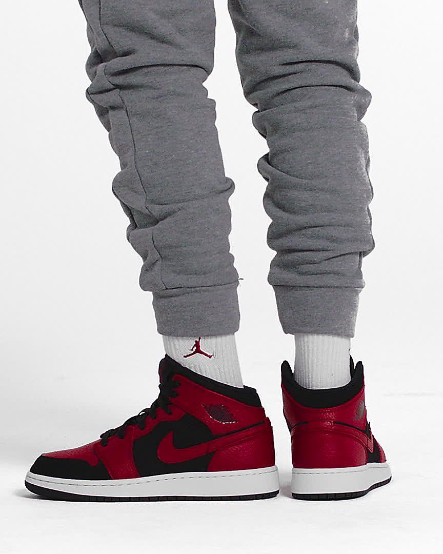 fresh styles buy good detailing Chaussure Air Jordan 1 Mid pour Enfant plus âgé. Nike FR