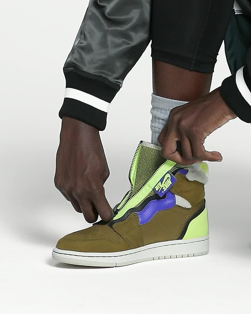 Air Jordan 1 High Zip Utility Women s Shoe. Nike.com GB 20012e906